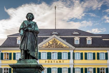 Bonn - Beethovenstatue